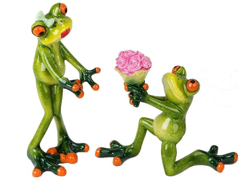 Lustige und herzliche Frösche - sensationelle Deko - Motiv  Heiratsantrag