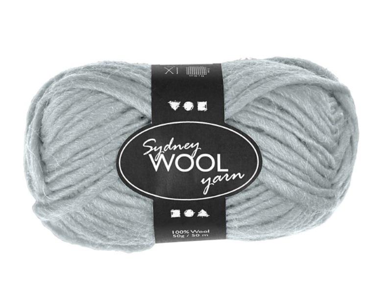 Sydney Wolle - 100 % austral. Deluxe Wolle - Länge 50m - 50g -  Helltürkis