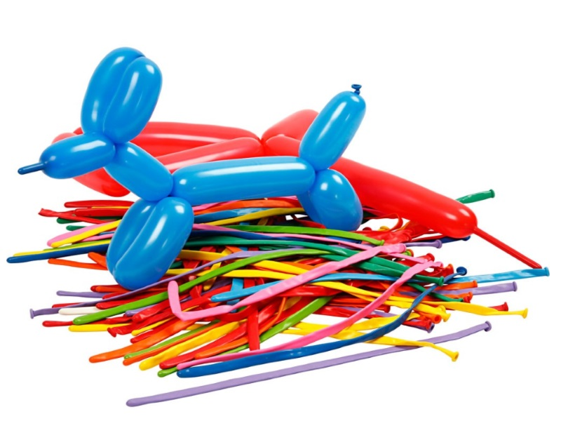 100 Formbare Luftballons (Ballontiere)