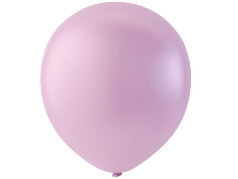 20 Luftballons - Ø 23cm Rund aus Naturgummi  - für Helium-Befüllung - Pink