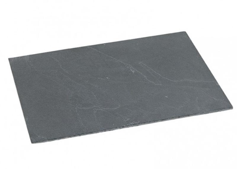 Serviertablett aus Schiefer B30/T20 cm Schneidebrett Platte Teller