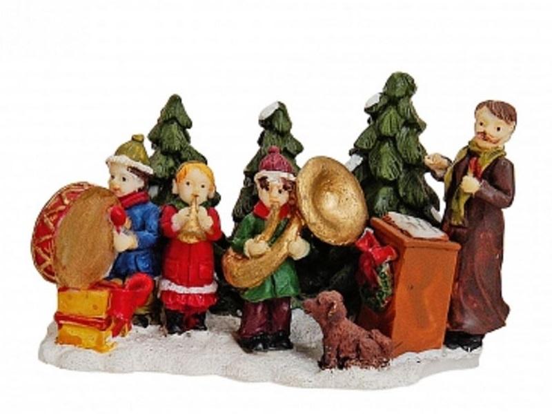 Lichthaus Zubehör G. Wurm Winterlandschaft Dekoration Modellbau Miniatur Musiker