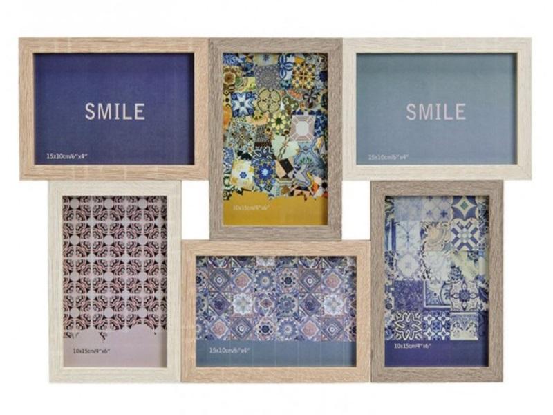 Moderner Fotorahmen aus Holz - Bilderrahmen für Bilder, Fotos bis ...