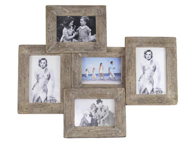 Wundervolle Maritime Bilderrahmen aus Holz und Glas - Var.2 - H39cm x B47,5cm