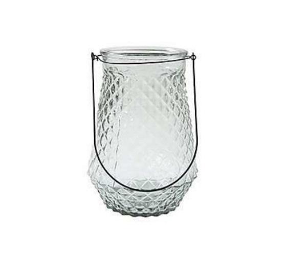 """Windlicht Hurricane """"JOUELLE"""" Dekoglas H27,5 cm x Ø21 cm Glas klar"""