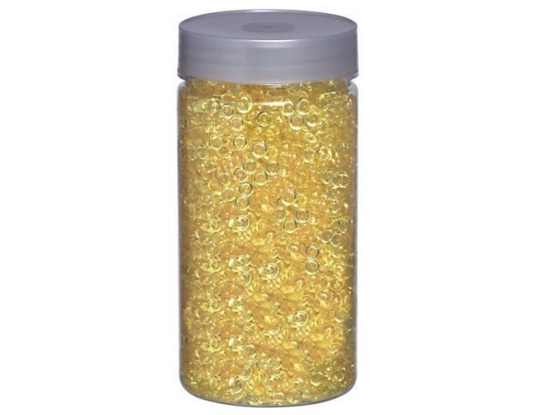 4800 Pearls Raindrops Dekoperlen 200g Dose Ø 5 mm – Gelb