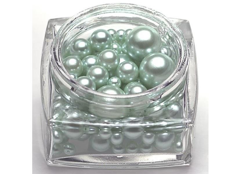 Deko Perlen 127 St. 6/10/16mm – Grün