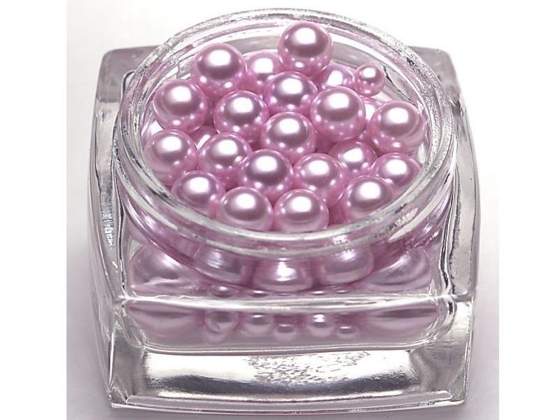 Deko Perlen 127 St. 6/10/16mm – Rosa