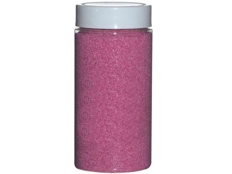 Dekosand Farbsand ca.650g Dose – rosa