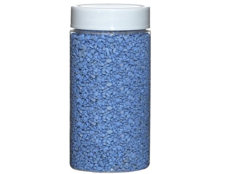 Deko Granulat Ø 2-3 mm ca. 650g Dose – Hellblau