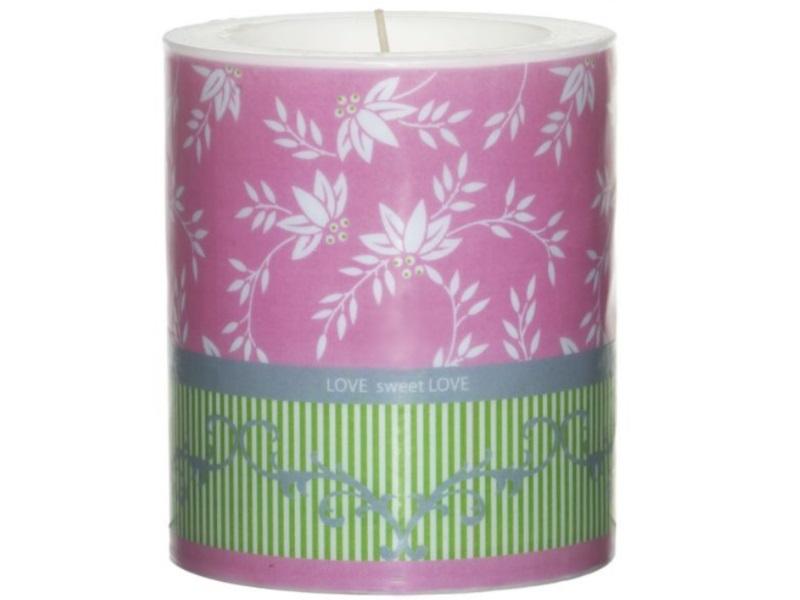Wunderschöne Themen-Motiv Kerzen - Lampion Kerze - Ø100mm x H120mm Lauras Love