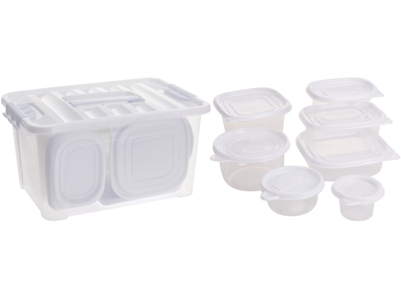 27-teiliges Vorratsdosen-Set Aufbewahrungsdosen mit Deckel