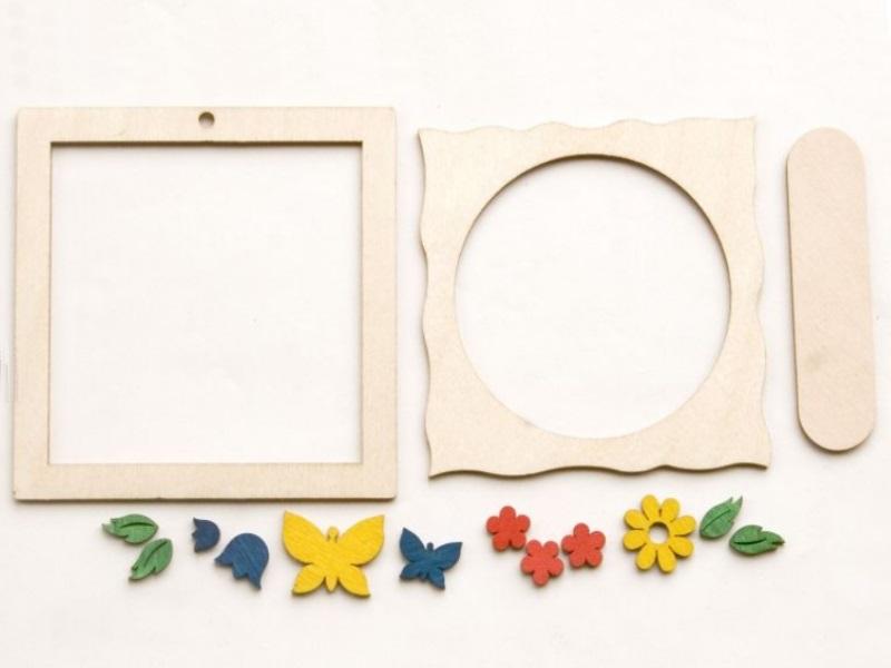 Hobaku Bastelsets - Selbstbau-Sets – Drechslerei Kuhnert (Bilderrahmen - 10 x 10