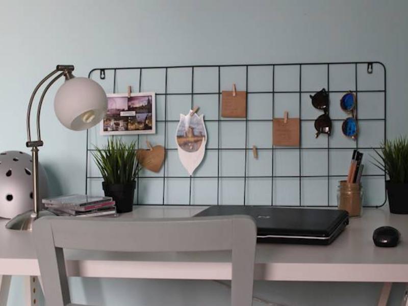 Unbekannt 1 x Memotafel Gitter schwarz H/öhe 60 cm Wunschmodell:Links