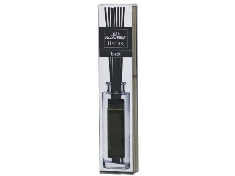 Raumduft Black 120ml Mit Glasflasche Und Stäbchen
