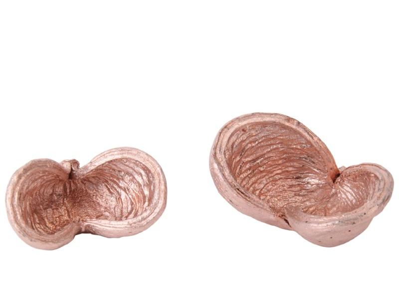 20 Stück - Badam rosa-glimmer