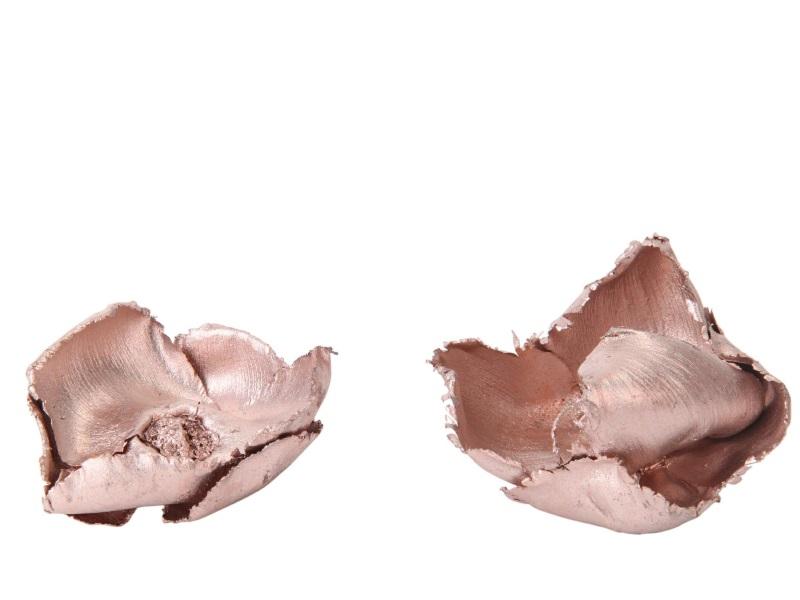 25 Stück - Palm Cap rosa-glimmer