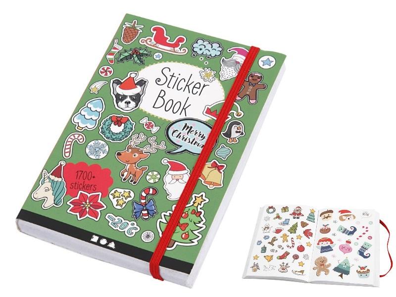Sticker-Buch mit über 1700 Sticker auf 76 Seiten mit tollen Weihnachts-Motiven