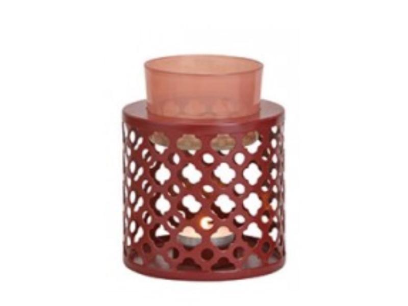 "Duftlampe ""koriste"" für Duftöl (pink) Ø 10cm x Höhe 13cm"